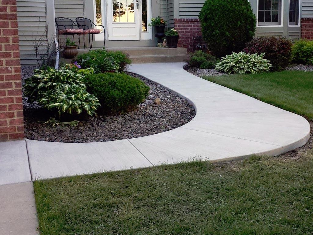 Concrete Sidewalk Contractors Mn Concrete Sidewalk Replacement